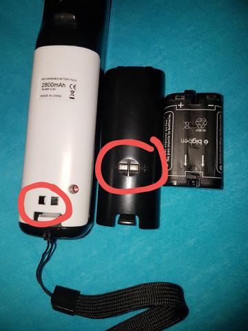 - (Wii, Laden, Batterie)
