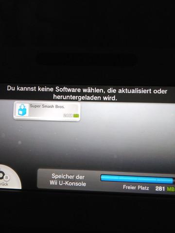 Speicherplatz - (Update, Speicherplatz, Wii U)