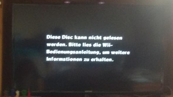"""Wii zeigt an """"Disc kann nicht gelesen werden was tun ?"""