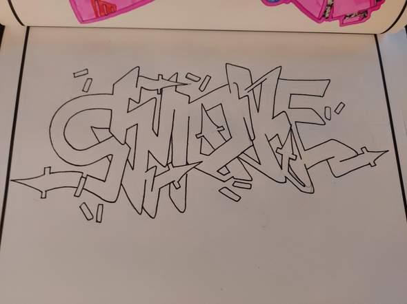 Wildstyle Graffiti Meinung?