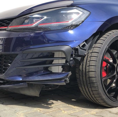 Bild vom Schaden des Fahrzeugs - (Recht, Auto und Motorrad, Verkehrsrecht)