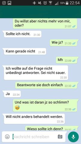liebes whatsapp chats