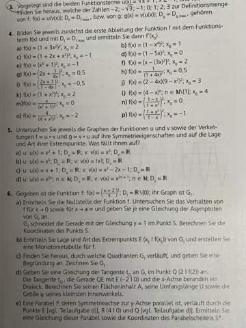 Will mir jemand bei dieser Mathematikaufgabe helfen?