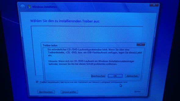 Erste Fehlermeldung - (Computer, PC, Windows)