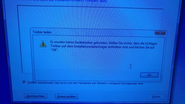 Zweite Fehlermeldung  - (Computer, PC, Windows)