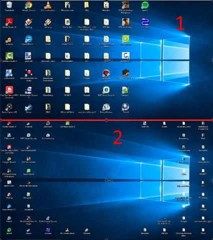 Destop anordnung - (Windows 10, Desktop, Destop Symbole)