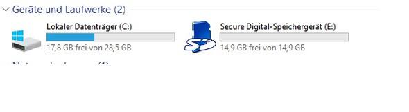 Datenträger - (Windows 10, Update, Speicherplatz)