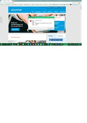run.vbs fehlermeldung - (Fehlermeldung, Windows 10)