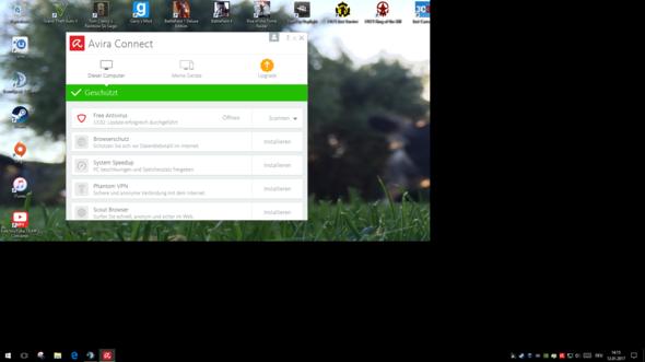 Desktop - (Windows 10, verschwommen)
