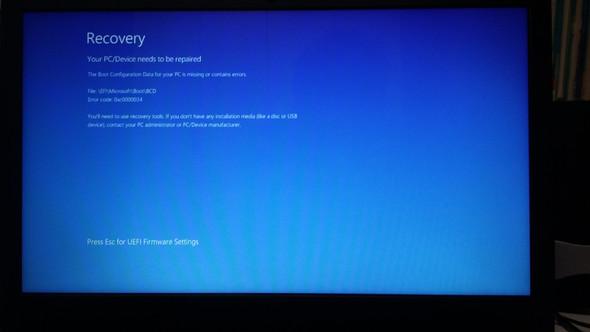 Windows 10 bootet nicht - (Computer, PC, Software)