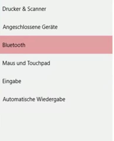 Und so bei einem Video was ich gesehen habe - (Windows 10, Bluetooth)