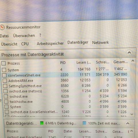 1. Ressourcenmonitor - (PC, Festplatte, ssd)