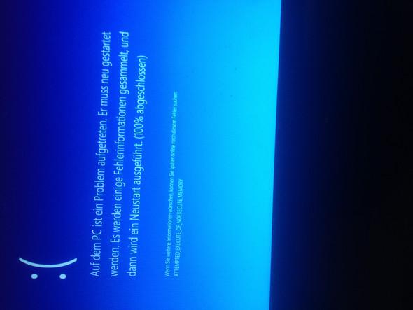 Eine Minute nachdem der PC an ist kommt diese fehlermeldung  - (Computer, PC, Internet)