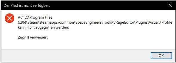 dies ist der error der kommt wenn ich auf manche ordner klicke - (Windows 10, Ordner, Error)
