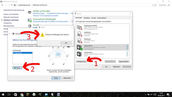 Hier der Fehler, und meine klick reinfolge. - (Computer, PC, Gaming)