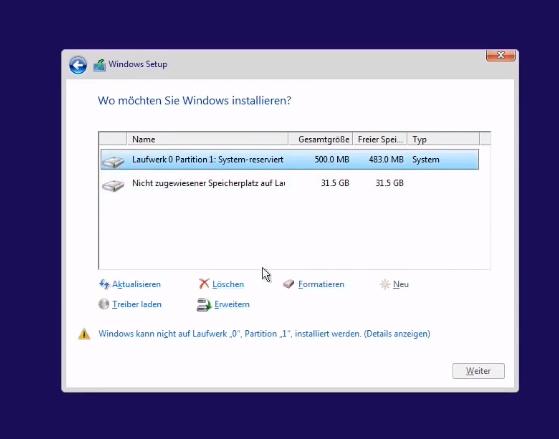 Windows 10 Partition Erstellen