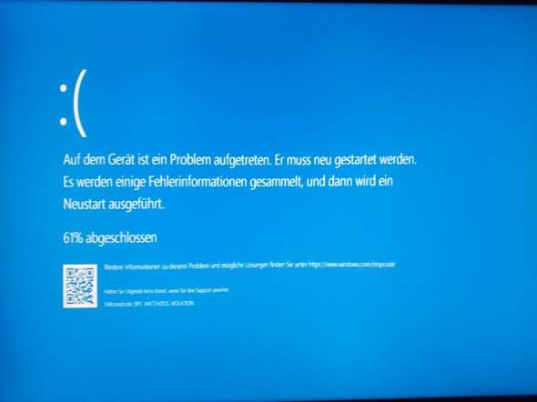 Windows 10, plötzlich Bluescreens und kaum mehr nutzbar?
