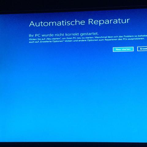 Nur diese Meldung  - (Computer, Windows 10, Medion)