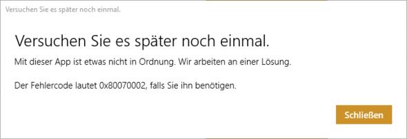 Fehlercode 1 - (Computer, PC, Windows)