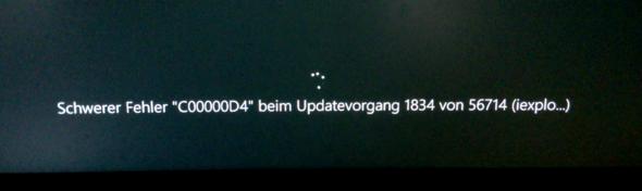 Fehlermeldung - (Windows 10, Fehlermeldung)