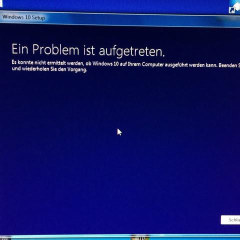 Der Punkt vor der Fehlermeldung - (Computer, Windows)