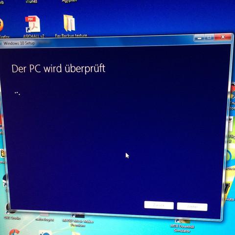 Die Fehlermeldung - (Computer, Windows)