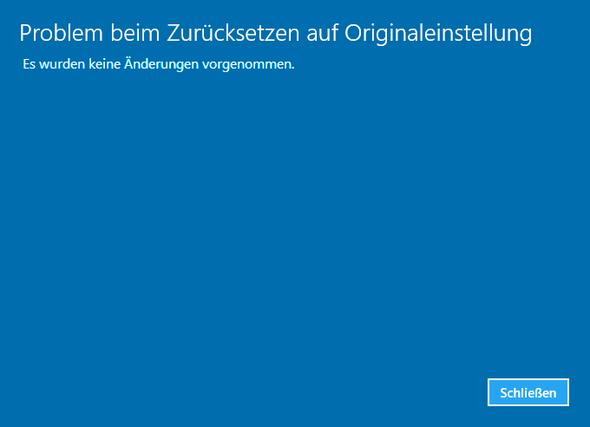 Fehlermeldung - (Fehler, Microsoft, Windows 10)