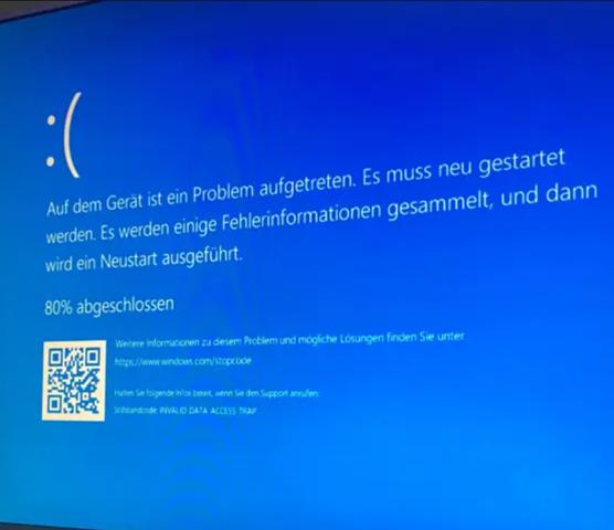 Windows 11 Update BSOD was tun?