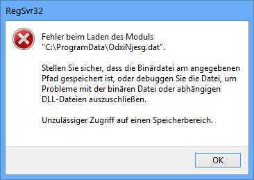Fehlermeldung - (Windows 7, Fehlermeldung)