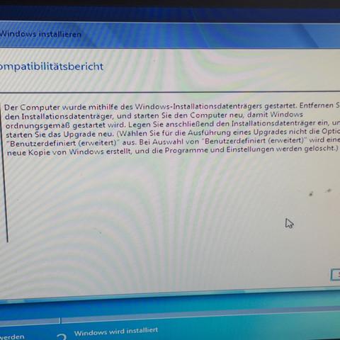 Der Kompatibilitätsbericht   - (Computer, PC, Windows)