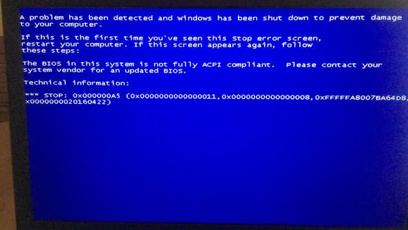 Fehlermeldung - (Computer, Windows 7, Installation)