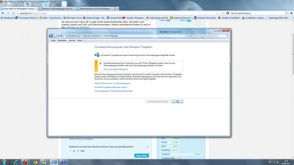 Das sehe ich die ganze zeit - (Internet, Windows 7, Netzwerk)