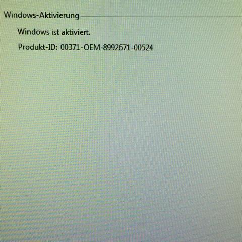 So sieht es aus - (Windows 7, professionell)