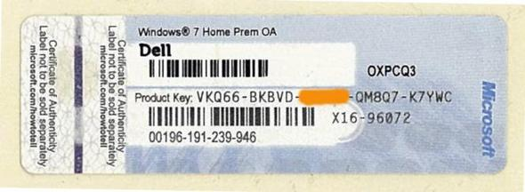 Blauer Key  - (Windows 7, Farbe, Key)