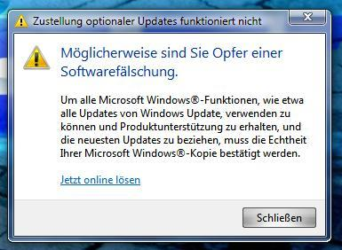 FOTO - (Internet, Windows 7, Lizenz)