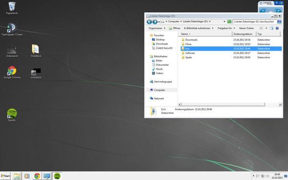 Optik mit Aktivierten Design - (Windows 7, Design)