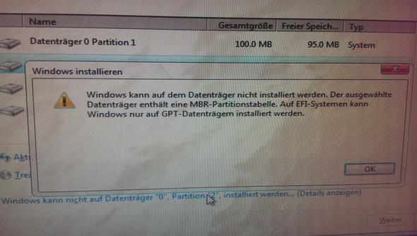 Da ist die Meldung  - (PC, Windows)