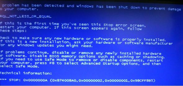 Fehlermeldung - (Windows, Windows 7, Fehlermeldung)