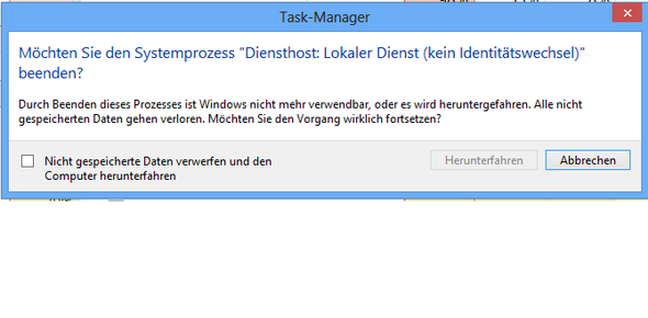 Beim Beenden - (Computer, Windows, Programm)