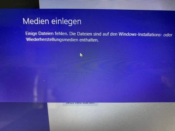 Windows 8 Zurücksetzen Tastenkombination