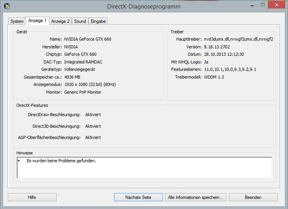 dxdiag Bild 2 - (Treiber, Ton, Windows 8.1)