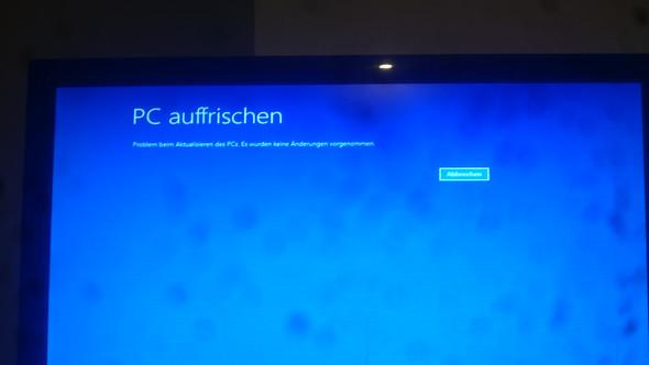 Windows 8.1 Startet nicht mehr es will Automatisch Reparieren?