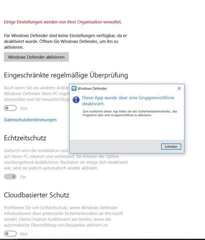 das kommt bei mir - (Computer, Virus, Windows 10)