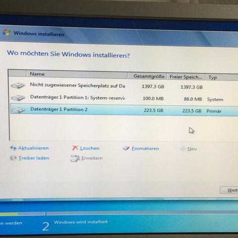 So lassen oder Festplatte üartionieren? - (Computer, PC, Windows)