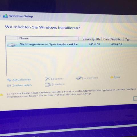 Fehlermeldung  - (Windows, Festplatte, Windows 10)