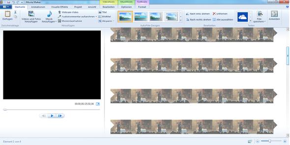 Etwa ab der zweiten Zeile läuft kein Ton mehr - (Computer, Film, Windows)