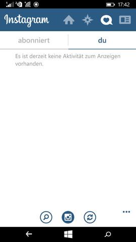 Instagram Ansicht - (Handy, Windows, Microsoft)