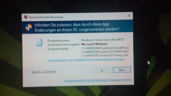 Die meldung - (Windows, Rechte, Windows 10)