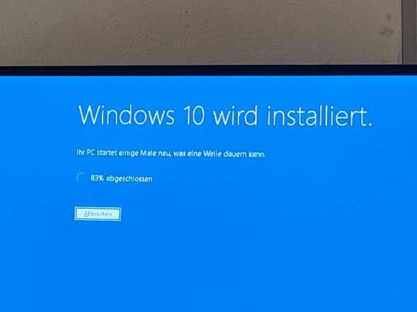 Windows Update dauert ewig?