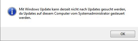 Hier die Meldung - (PC, Windows, Software)